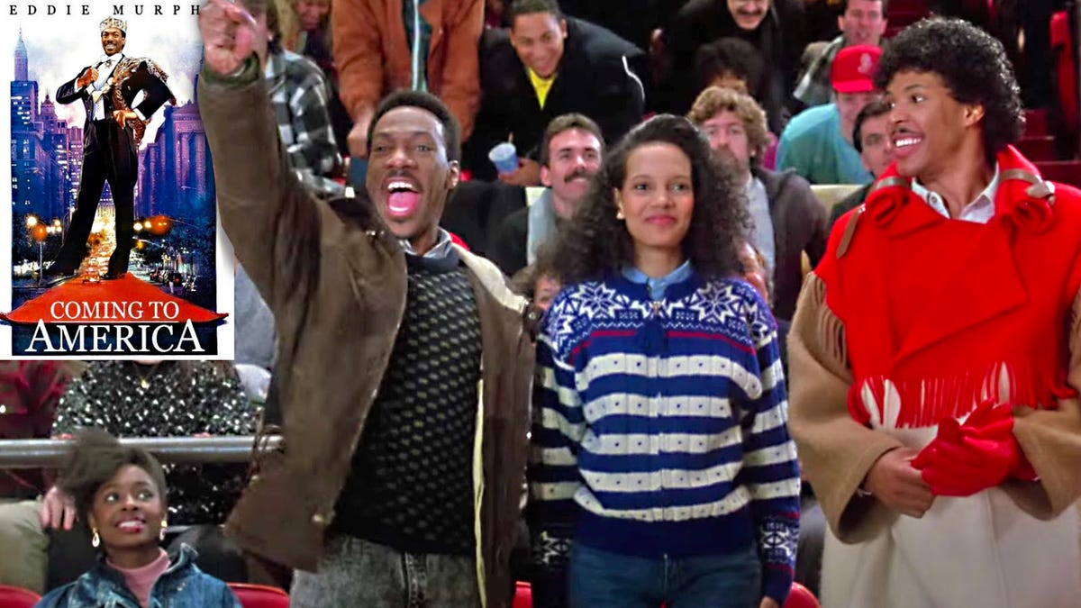 Remembering Eddie Murphy's Coming to America and the scene that made 'In Da Face' a thing