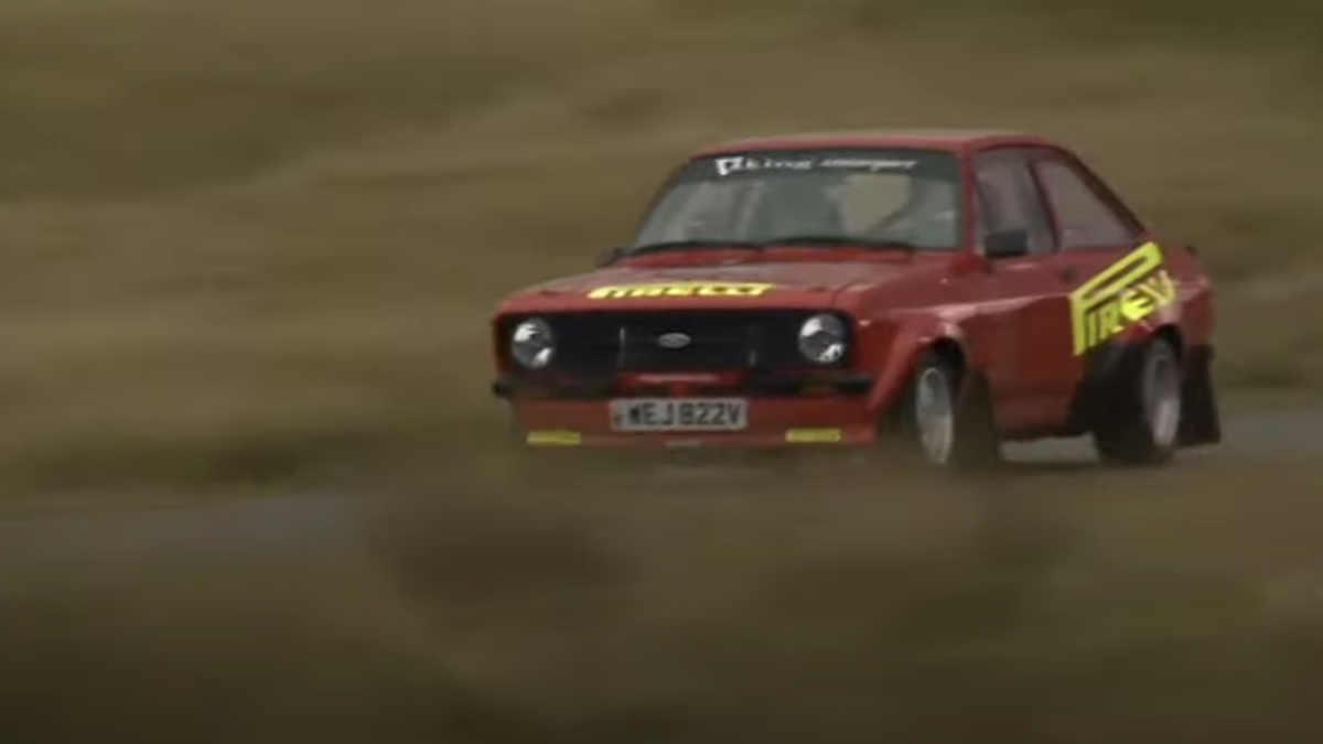 Watch A Ford MkII Escort Take On A 2011 Ford Fiesta Rally Car