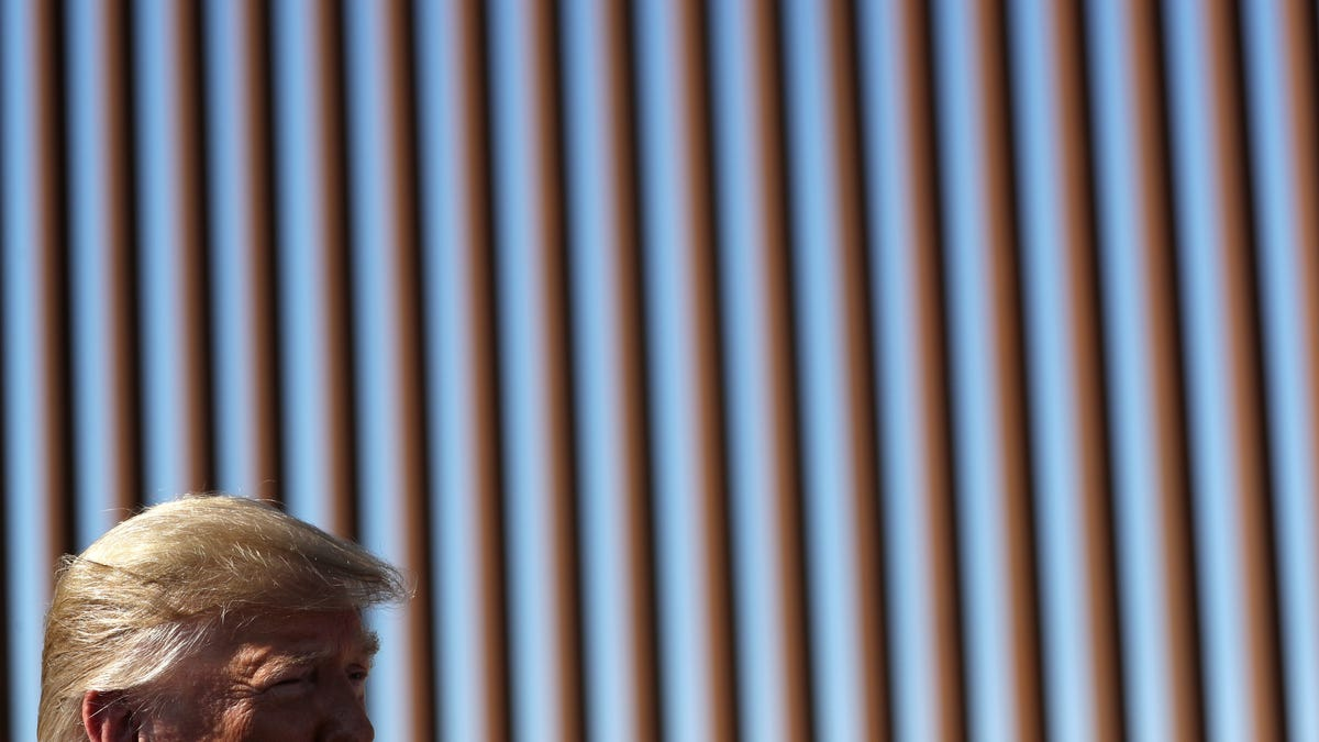 Trump Administration Argues the Border Wall Is Good for the Environment, Actually