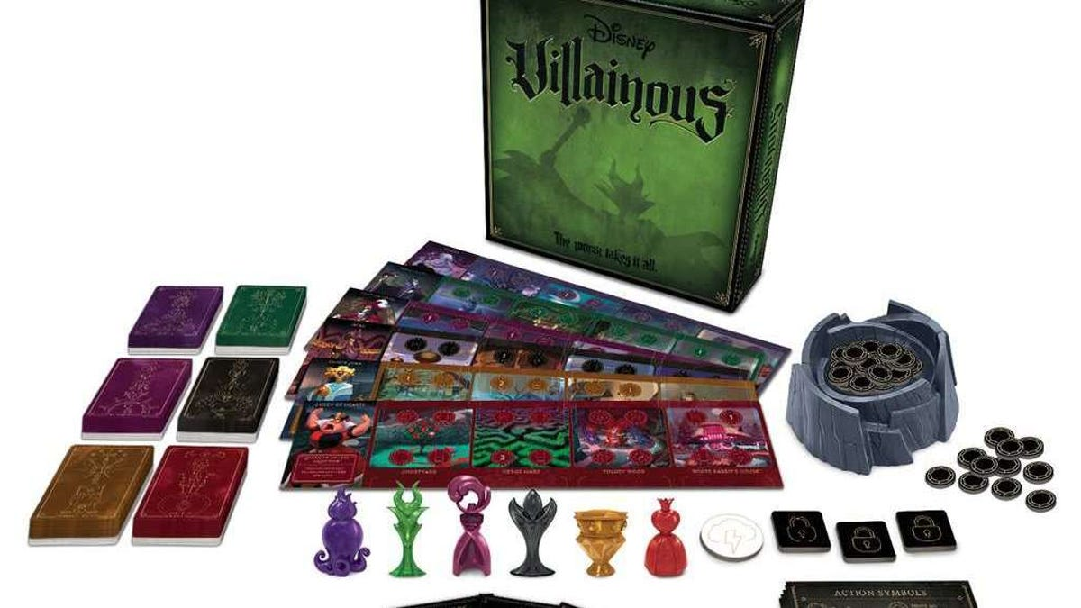 Let your inner bad guy out of the box with our guide to Disney's Villainous board game