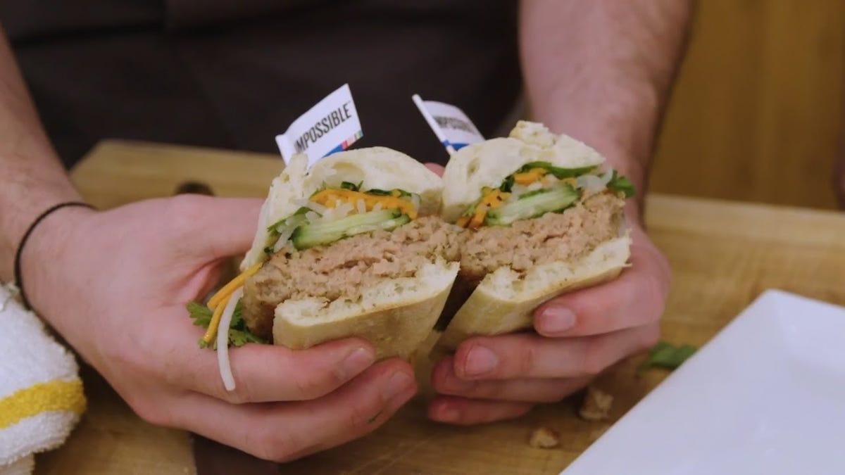 A qué sabe 'Impossible Pork', la nueva carne de cerdo 100% vegetal
