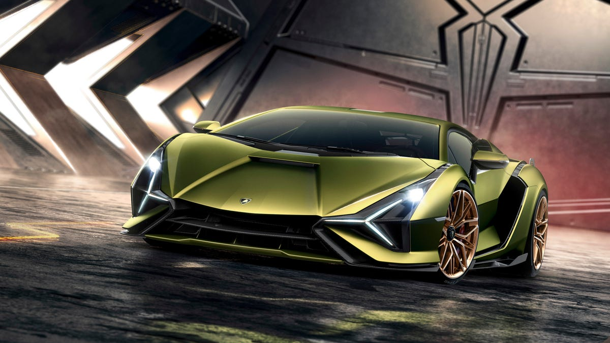 The 2020 Lamborghini Sián Is Here With 819 HP And A Hybrid V12