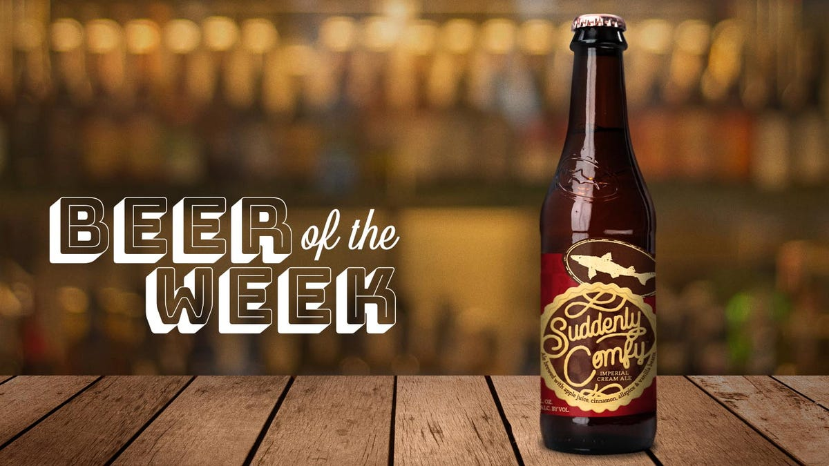 Beer Of The Week: Dogfish Head Suddenly Comfy is apple cobbler in a glass