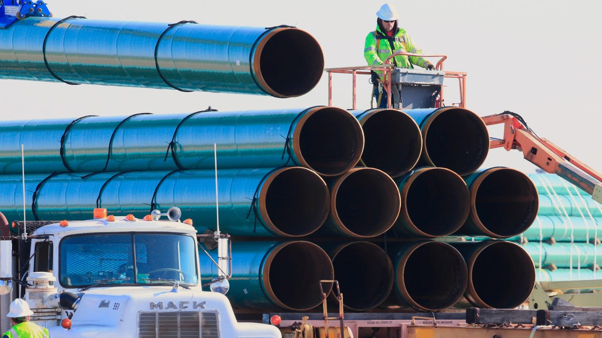 The Dakota Access Pipeline Is a Step Closer to Pumping More Oil Through Tribal Lands