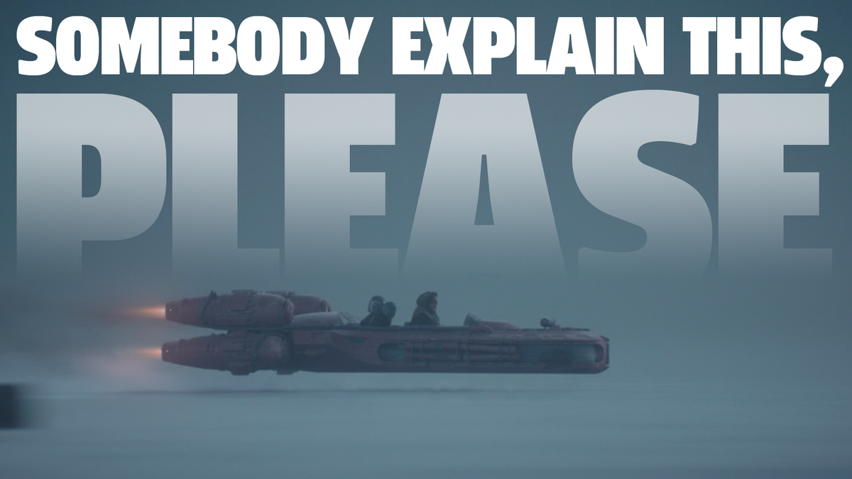 I Have One Very Important Question About Landspeeders In The Mandalorian