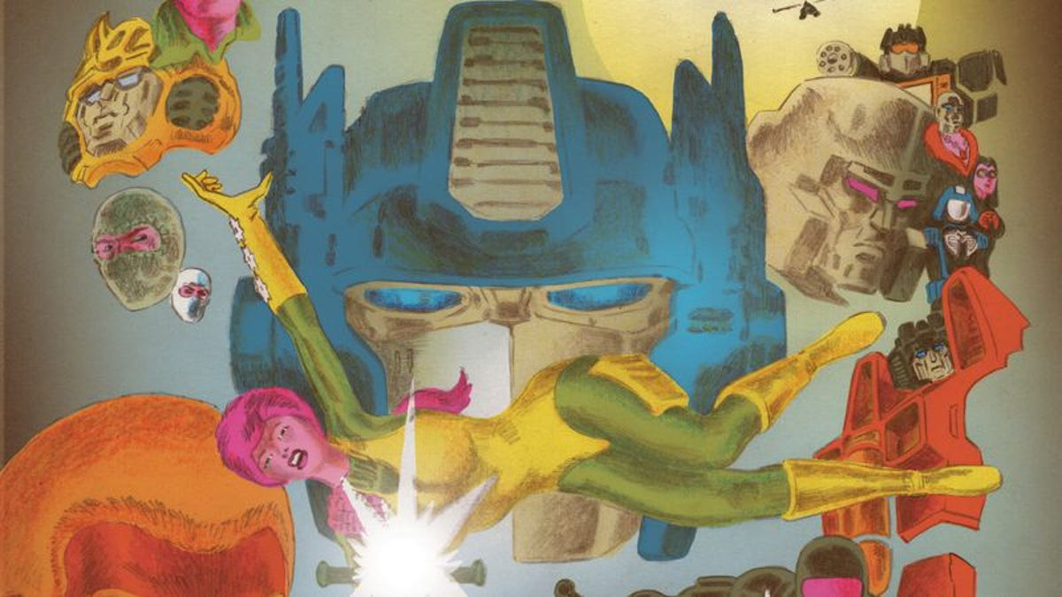 It's movies vs. comics in the wild and weird Transformers Vs. G.I. Joe