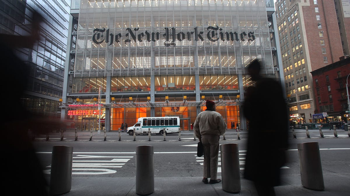 New York Times Realizes Big Tech News Aggregation Like Apple News Actually Bad
