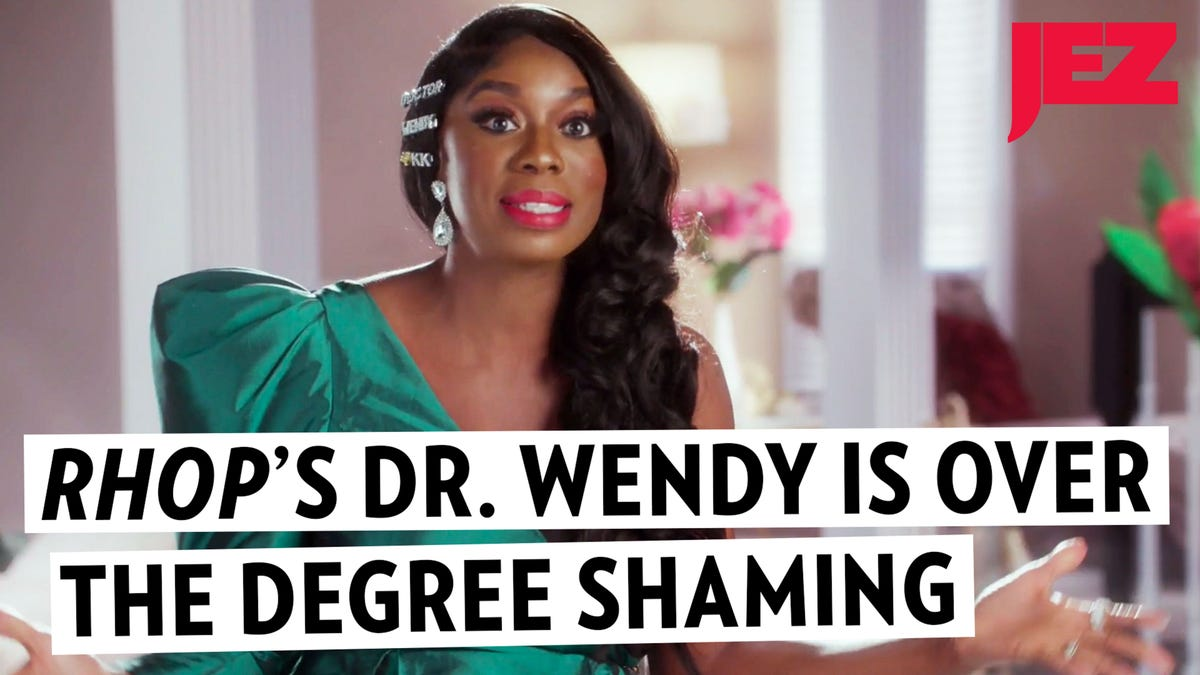 Would Y'all Let Dr. Wendy Live, Damn: A Chat With RHOP's Most Educated 'Housewife'