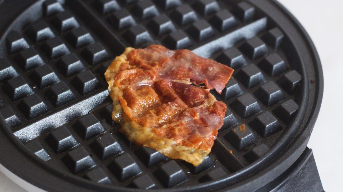 Make Prosciutto Crisps in Your Waffle Maker
