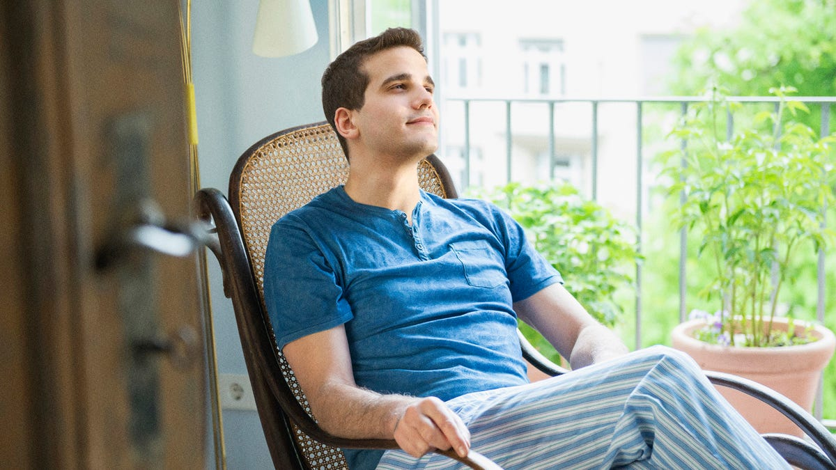 27-Year-Old Transforms Into Pensive, Weathered Sage Moments After Sitting In Rocking Chair