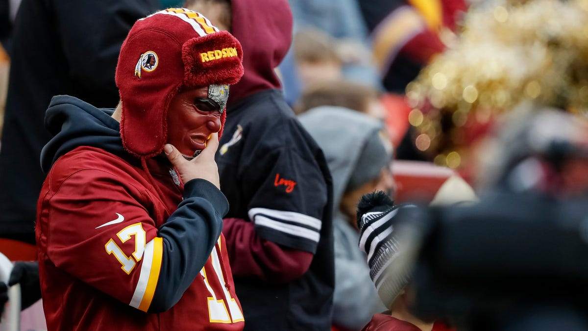 The Washington Redskins are no longer the Washington Redskins