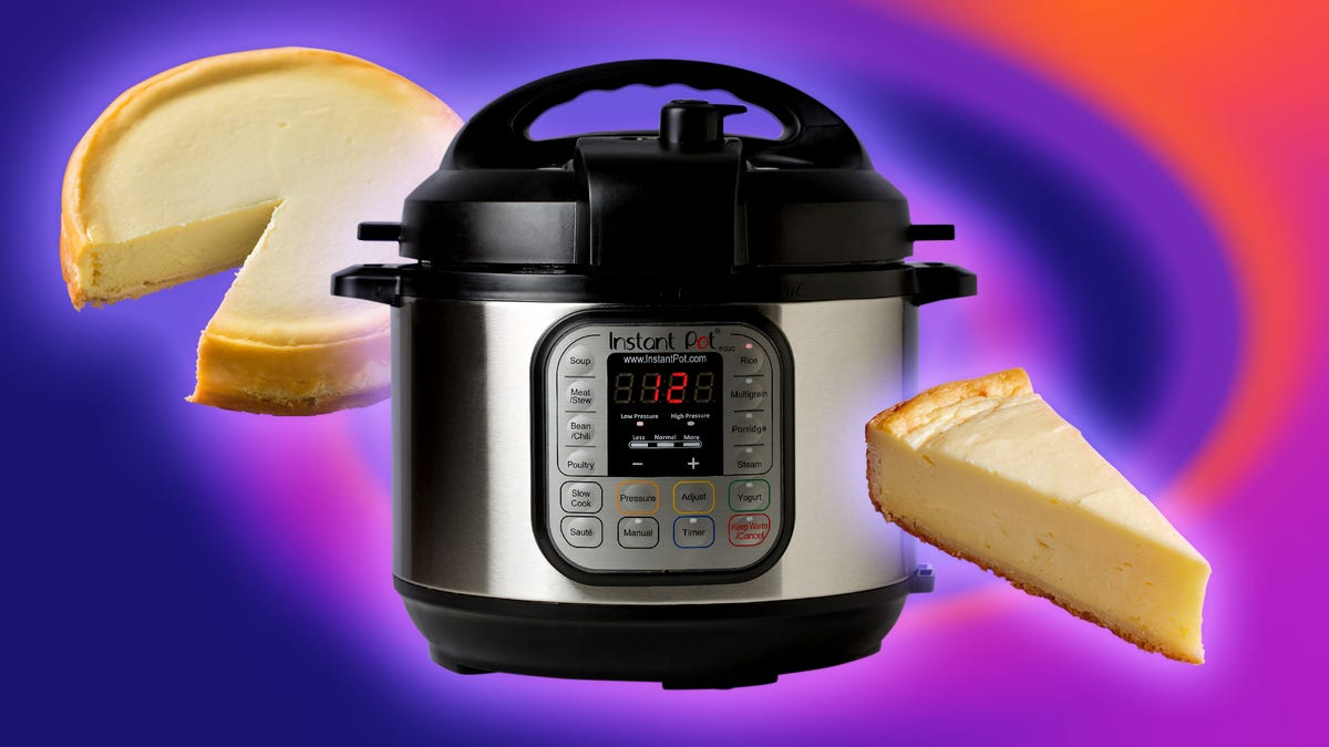 Is making cheesecake in an Instant Pot as good as baking it?