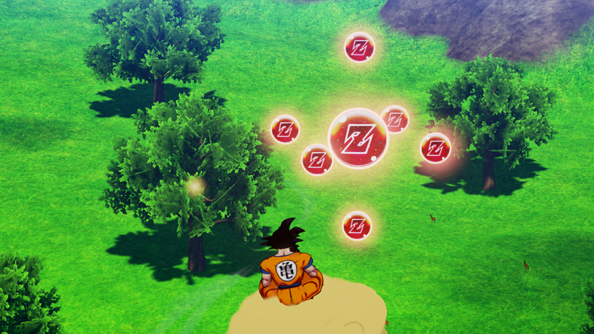 Dragon Ball Z Kakarot Is Bad, But Collecting Orbs Is Good