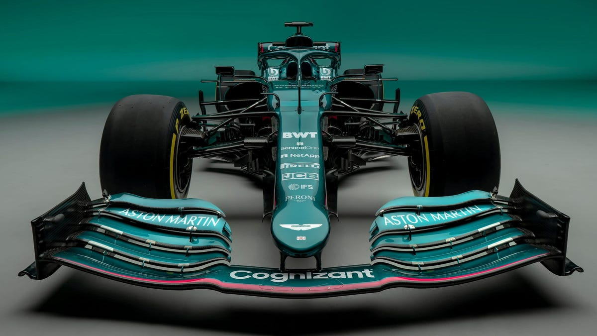 The Aston Martin Team Has The Best F1 Livery Of A Generation
