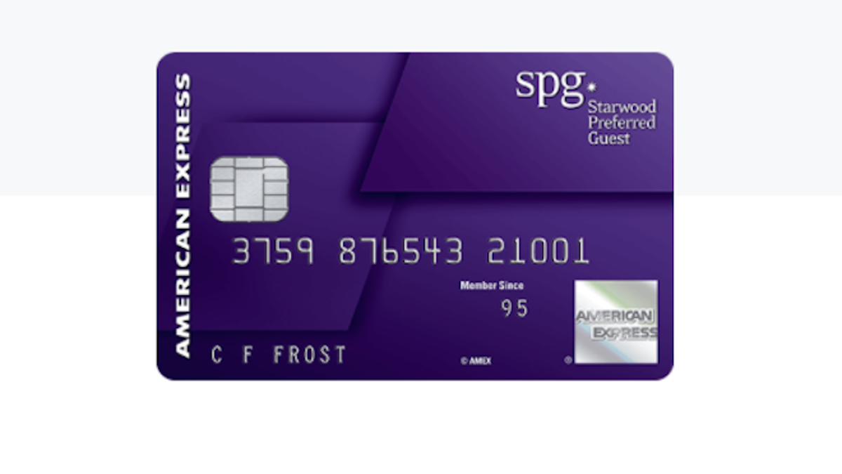 The Starwood Preferred Guest Card Just Increased Their Sign Up Bonus