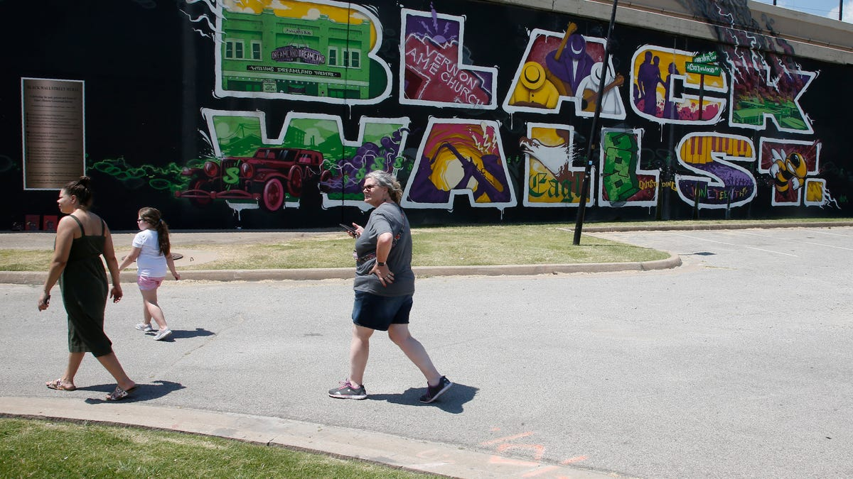 City of Tulsa Will Remove BLM Mural After Local Republican Party Chairman Asks to Paint Pro-Police Message