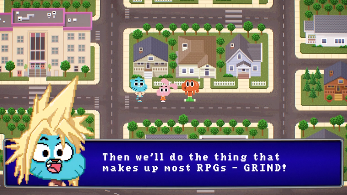 The Amazing World of Gumball's Wacky Tribute To Final Fantasy Is Glo