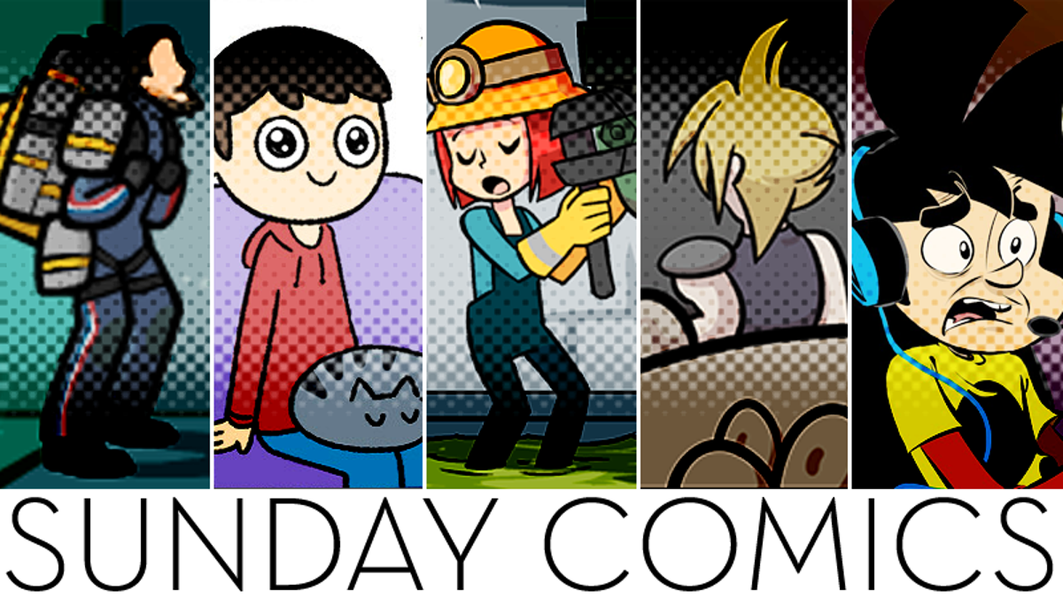 Image of article 'Sunday Comics: Sign Me Up'