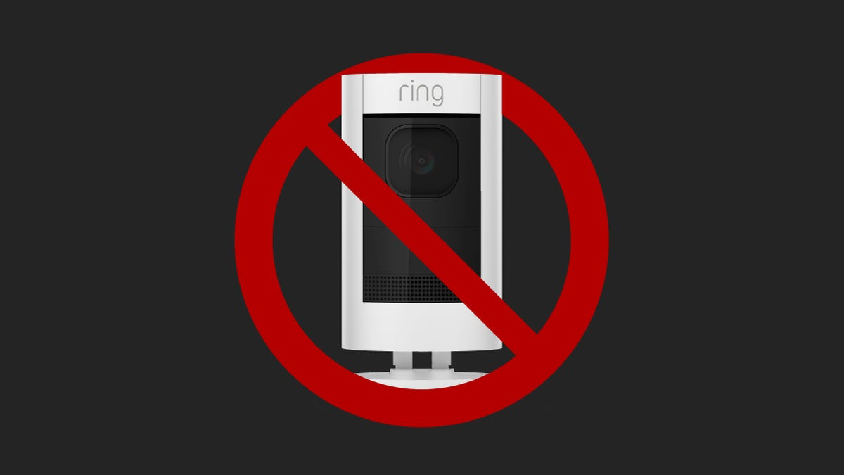 Don't Buy Anyone a Ring Camera