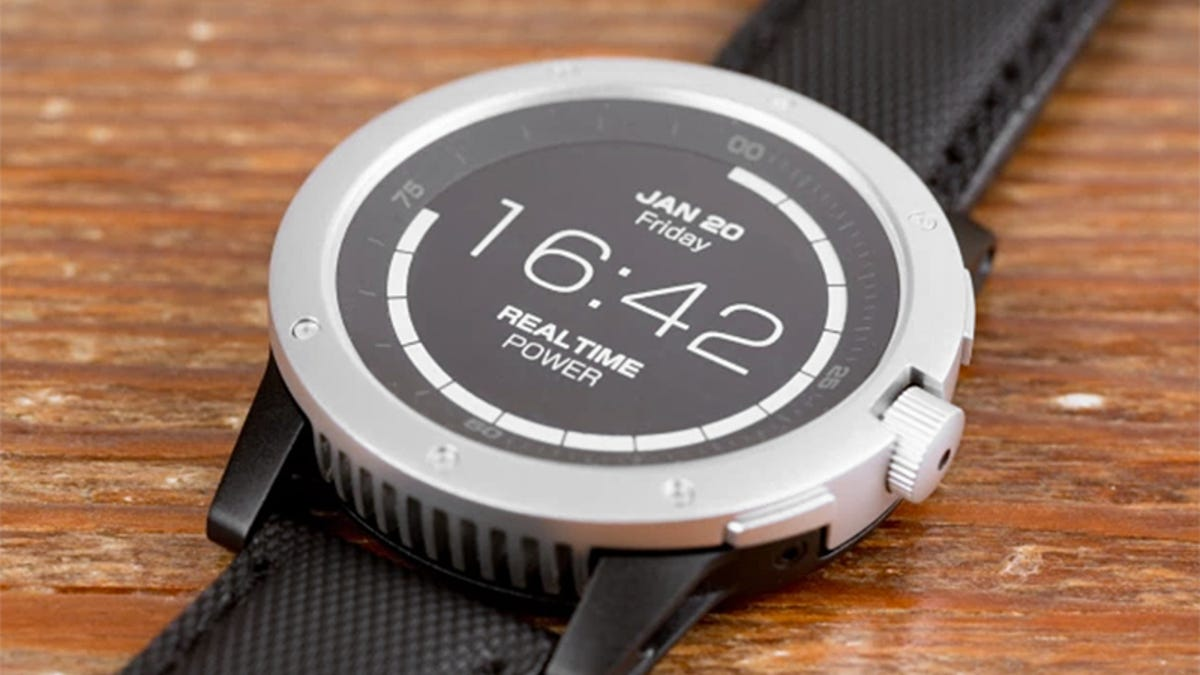 This Smartwatch Powered By Your Body Heat Never Needs Charging