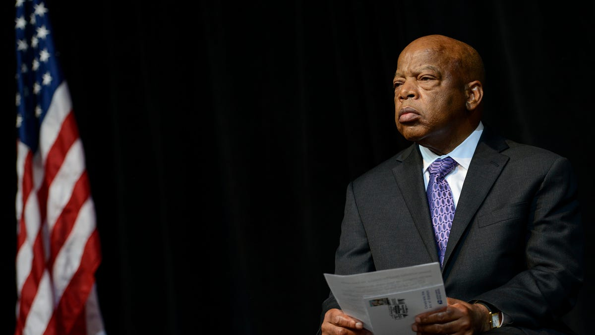 CBS to air John Lewis tribute with Oprah Winfrey, Brad Pitt, and more