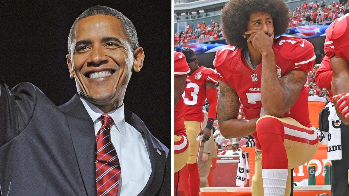 How the election of a former basketball player from Hawaii and the kneeling of a football player led to Trump's homegrown terrorists setting America on fire