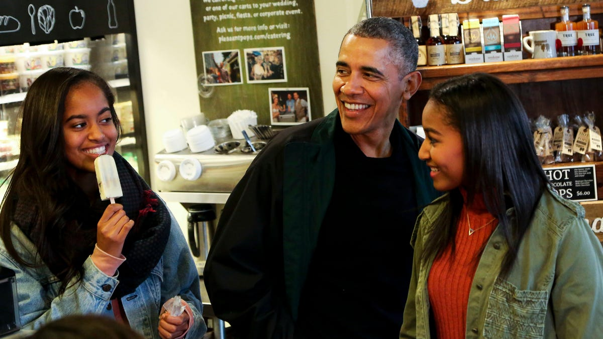 Barack Obama's Newest Memoir Is Dedicated to the Women in His Life