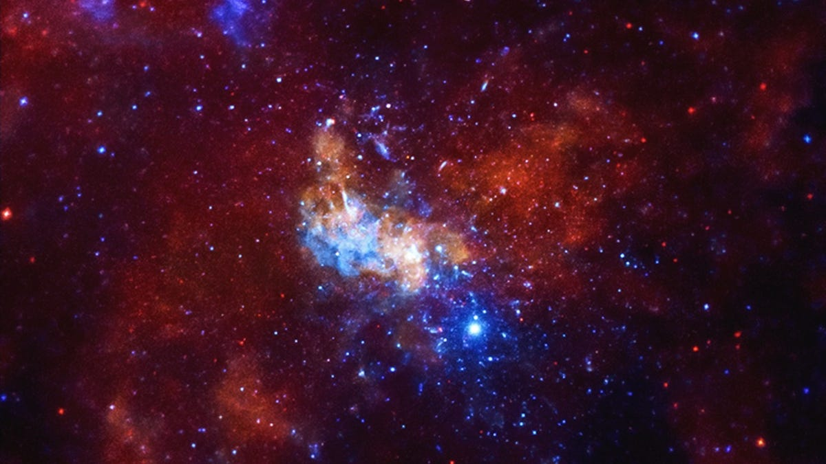 Our Galaxy's Black Hole Could Be Farting Out Planet-Sized Gas Balls