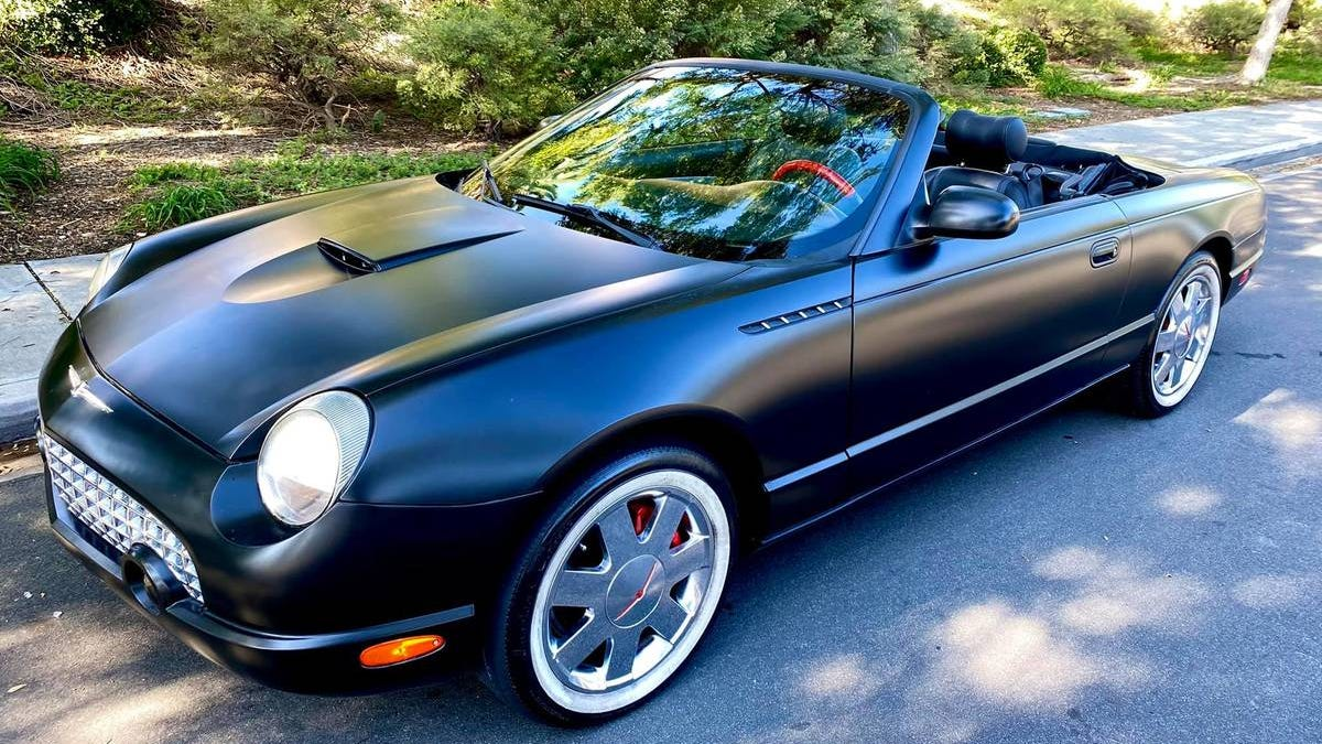 At $9,999, Could This Wrapped 2003 Ford Thunderbird Wrap Up A Buyer?