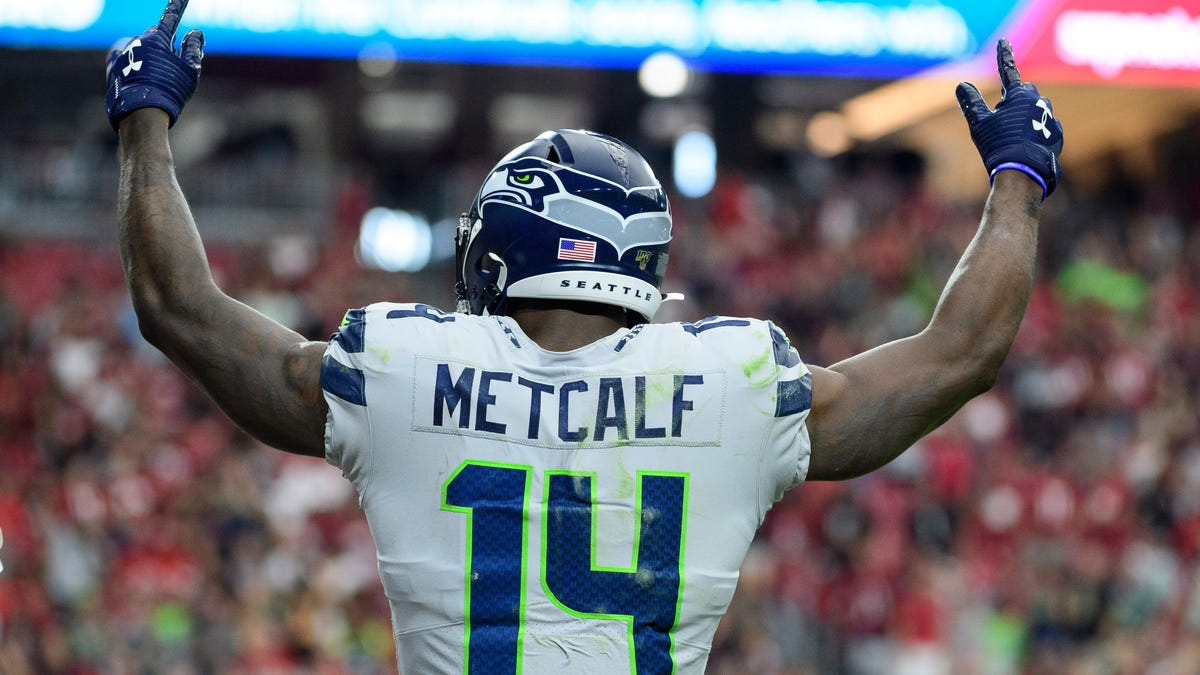 DK Metcalf Proves Pettiness Knows No Bounds After Monster Game Against the Eagles: 'I've Got to Make Them Pay'