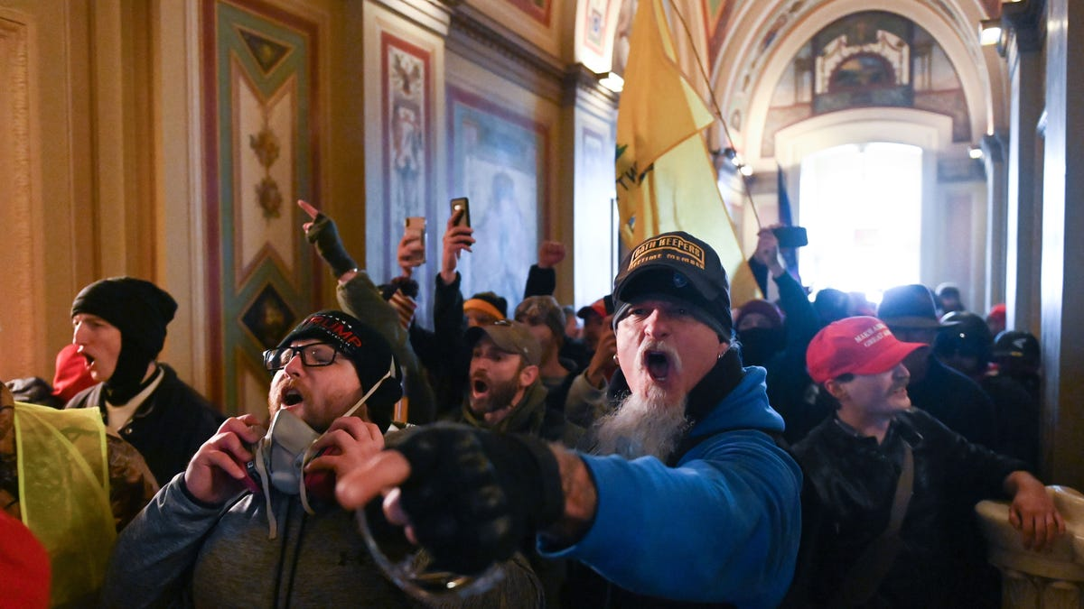 Military Personnel and Veterans Are 'Overrepresented' in Capitol Insurrection Arrests