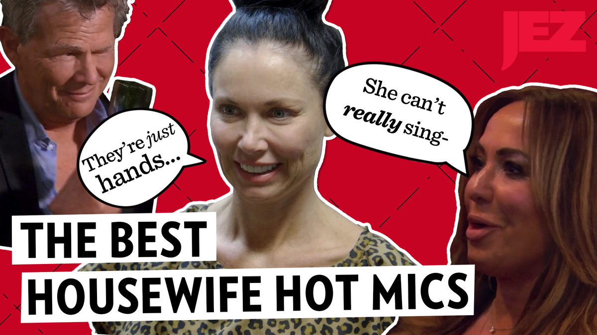 'She Can't Really Sing': The Best Real Housewives Hot Mic Moments