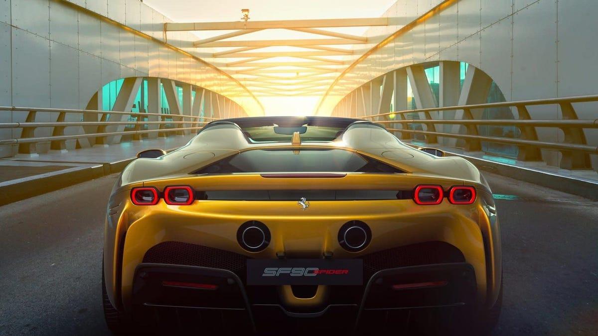 Ferrari Hit Record Orders Through The Global Pandemic