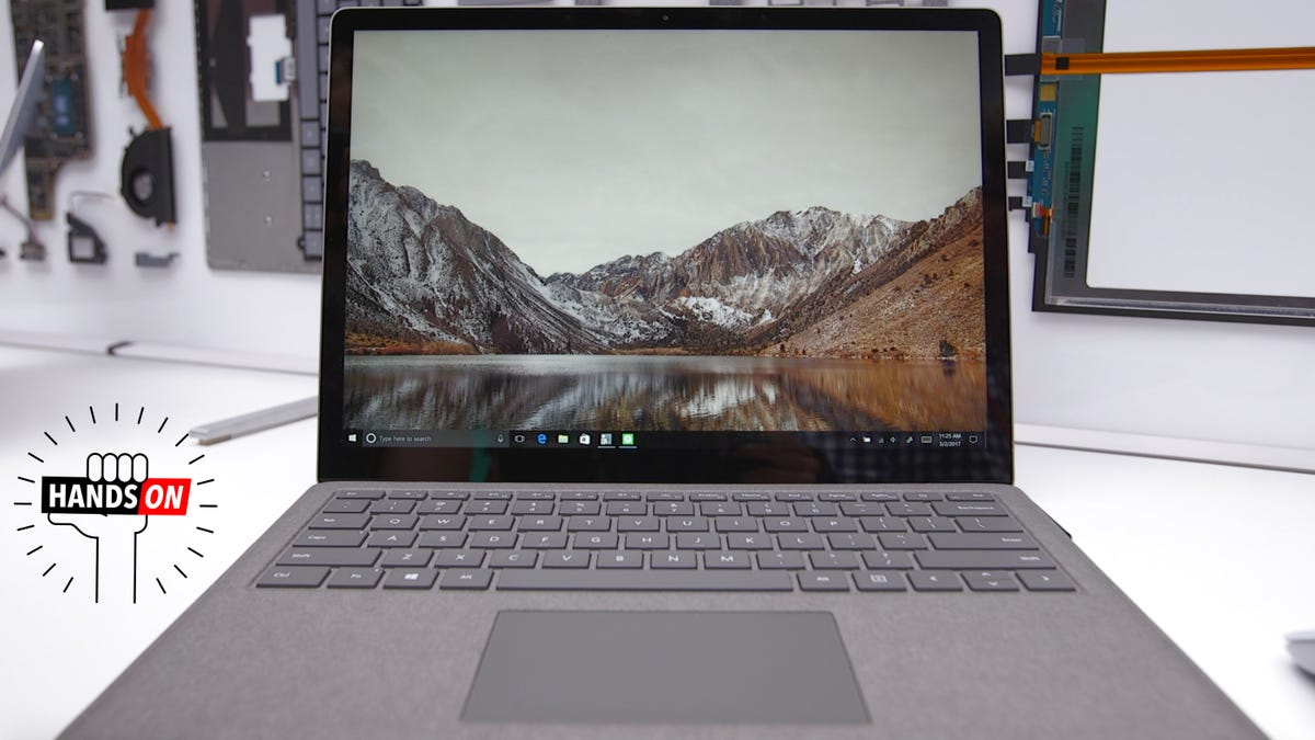 surface laptop first impressions  microsoft is finally