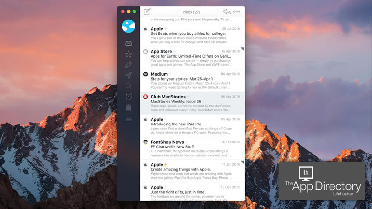 Ios email client