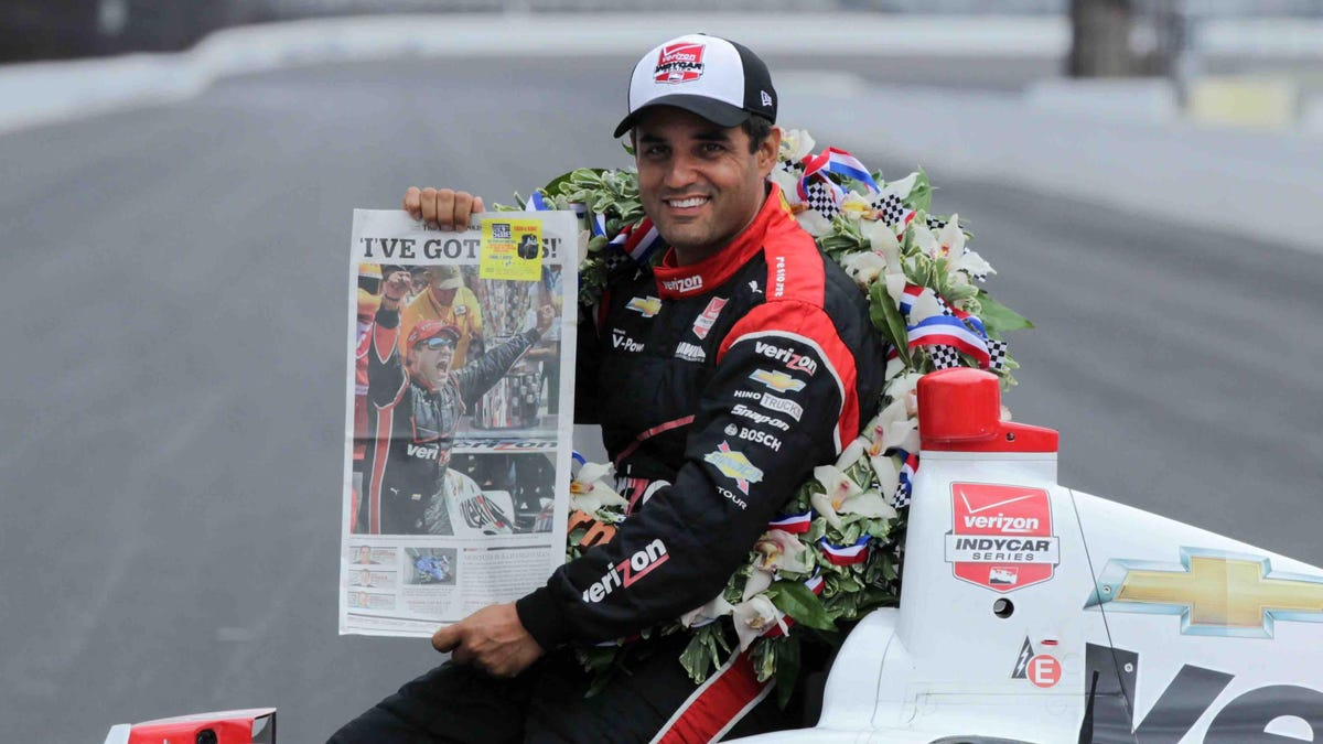 Two-Time Indy 500 Winner Juan Pablo Montoya Will Try For A Third In 2021 With McLaren