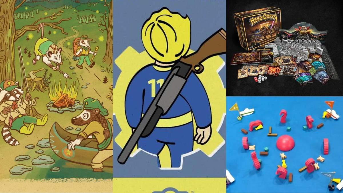 Batman Gets an RPG and Hasbro Revives HeroQuest in the Latest Gaming News