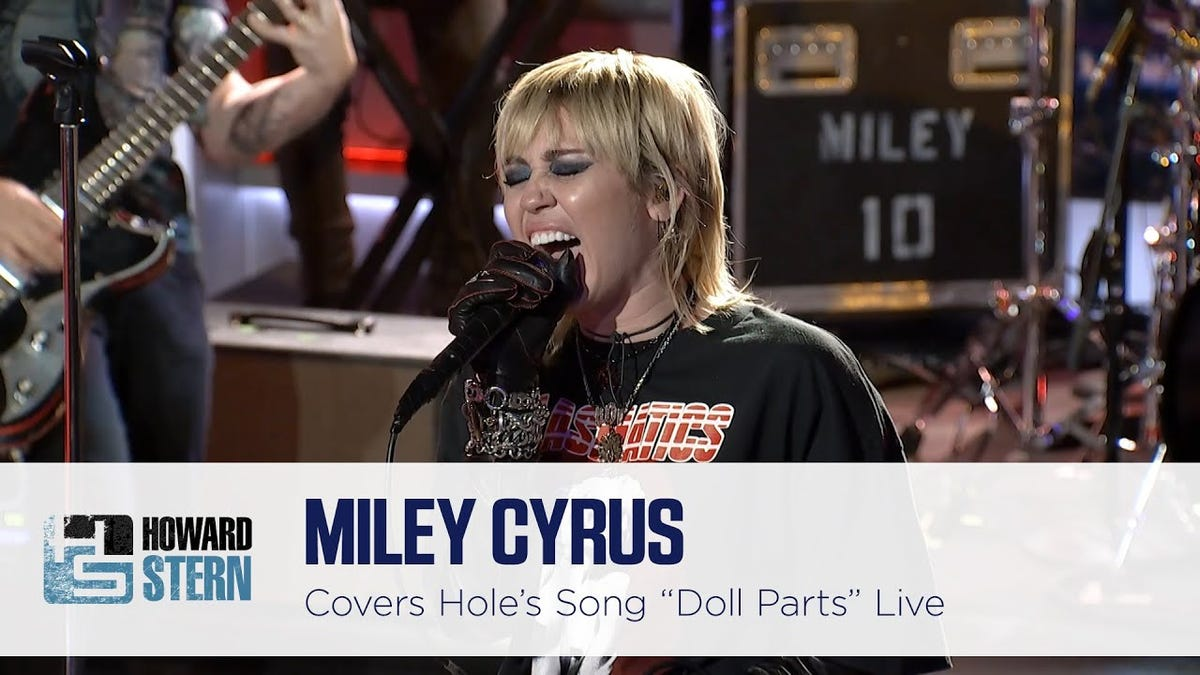 Miley Cyrus's Cover of Hole's 'Doll Parts' Is One of 2020's Few Blessings