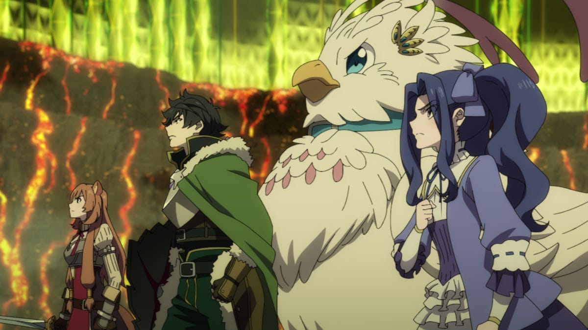"""The Rising of the Shield Hero season 2"