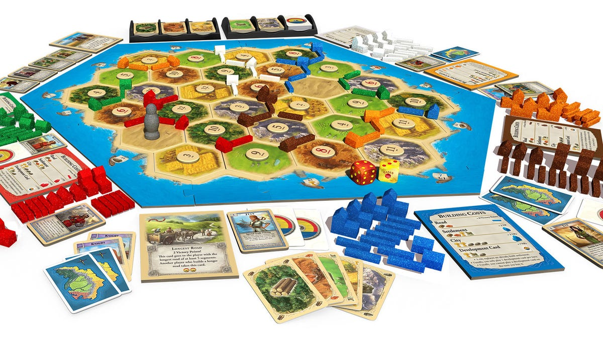 Catan became an American hit by beating Monopoly at its own cruel game