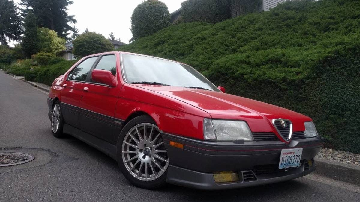 At $5,200, Could This 1993 Alfa Romeo 164S Turn You Into A True Enthusiast?