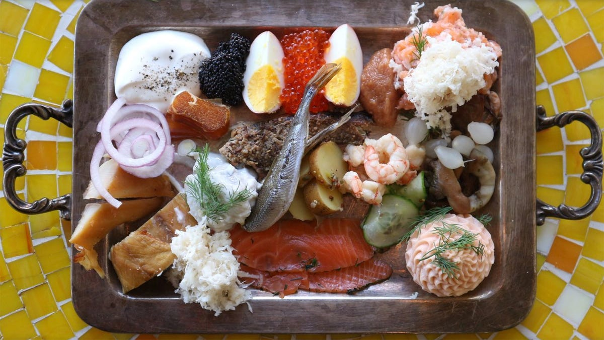 Fish platters aren't just breakfast, they're a philosophy