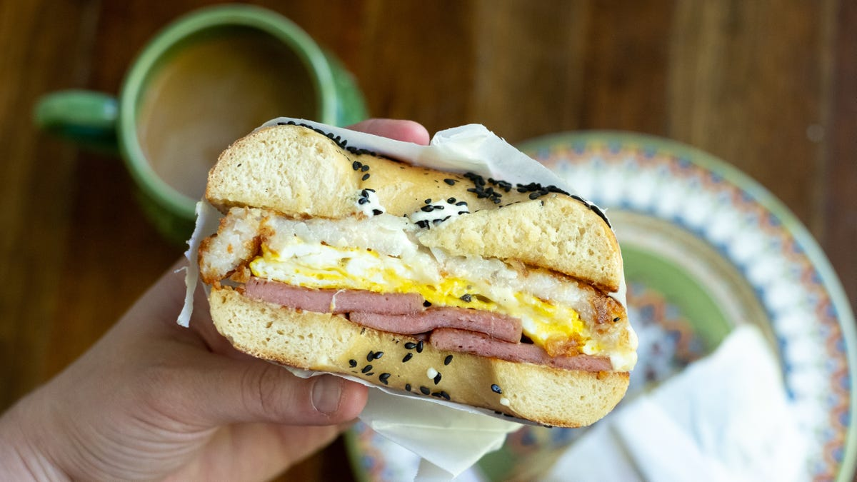 Put Hash Browns Inside Your Breakfast Sandwich