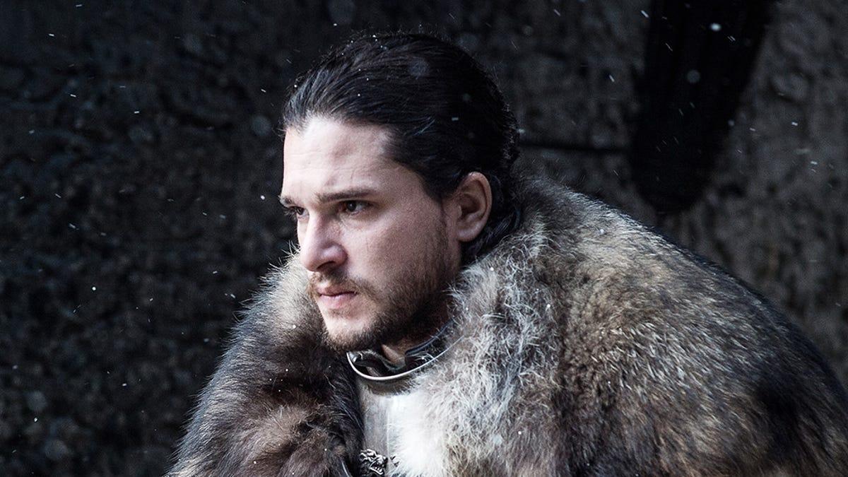 Jon Snow Cloak Out of an IKEA Rug