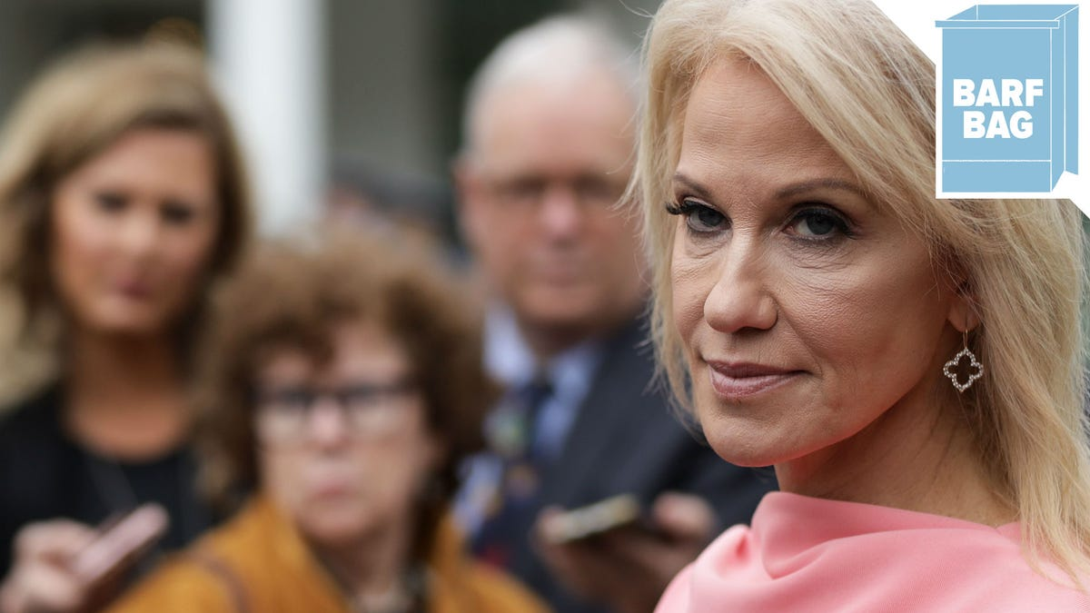 Kellyanne Conway Apparently Offended By Reminder That Her Husband Exists