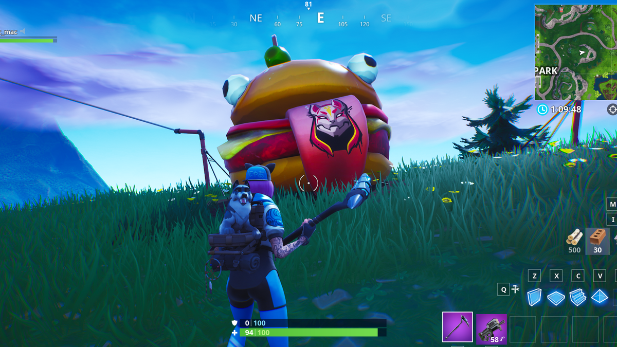 Fortnite's World Is Full Of Fast Food, Which Makes Sense