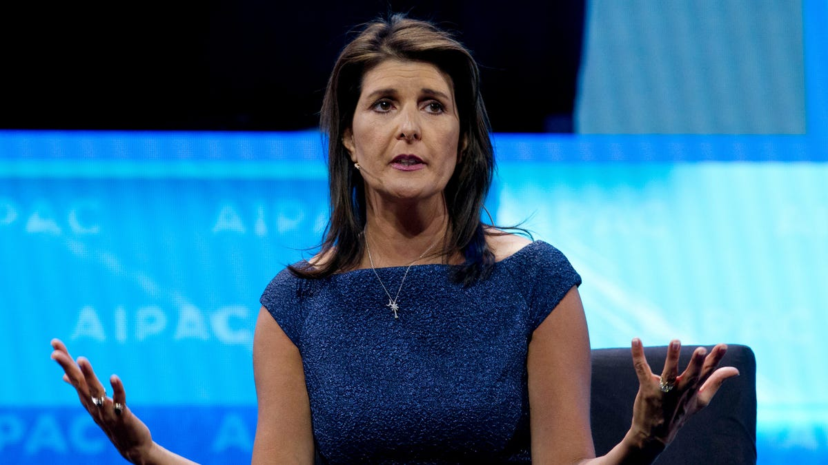 Report: Nikki Haley Used Unclassified Email System During North Korean ICBM Crisis Because She Forgot Her Pass