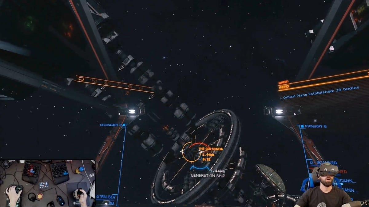 Elite: Dangerous Players Discover Ancient Ship Full Of Living People
