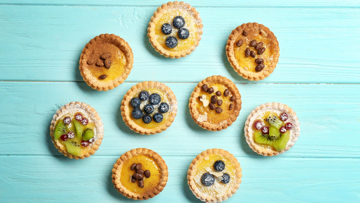 Put Custard Tarts in the Oven Before Filling Them