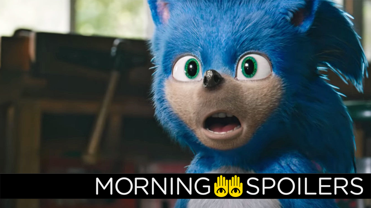 Our First Gloved Glimpse of the Sonic: The Hedgehog Redesign Is Here
